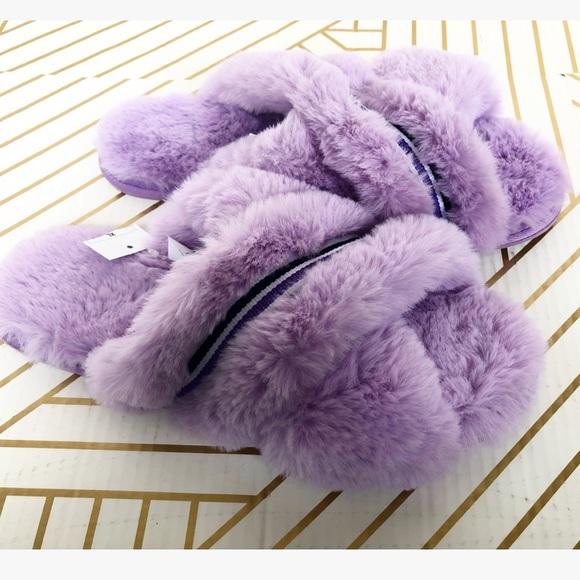 0dbad2fbd6b66 Faux fur slippers Niah xhilaration Sz XL. M_5c71c9ebc61777f412affa52